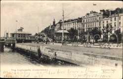Postcard Queenstown Cork Irland, The Esplanade, Promenade am Wasser