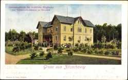 Ansichtskarte / Postkarte Zitschewig Radebeul im Kreis Meißen, Genesungsheim für weibl. Mitglieder