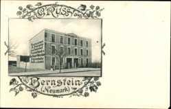 Passepartout Ak Pełczyce Bernstein Neumark Ostbrandenburg, Restaurant Fournier