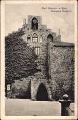 Postcard Bad Münster am Stein Ebernburg, Der Burghof der Ebernburg