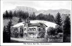 Postcard Bad Tölz, Villa Gudrun in der Westermaierstraße 5, Bes. Georg Ring