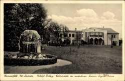 Ak Lubsko Sommerfeld Ostbrandenburg, Schloss Dolzig, Kaisern Auguste Victoria