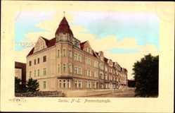Ak Żary Sorau Ostbrandenburg, Haus in der Promnitzstraße