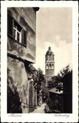 Ansichtskarte / Postkarte Meißen in Sachsen, Blick auf den Seelensteig