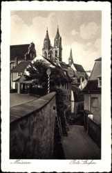 Ansichtskarte / Postkarte Meißen in Sachsen, Blick auf die Rote Stufen