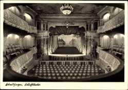 Postcard Schwetzingen im Rhein Neckar Kreis, Blick in das Schlosstheater