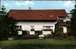 Postcard Chamerau Bayerischer Wald, Pension Ludwig Kappenberger, Roßbergweg 5