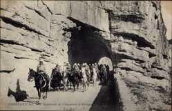 Postcard Constantine Algerien, Le 3e Regiment de Chasseurs d'Afrique, Neurdein Frères