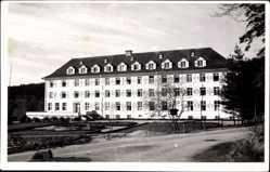 Foto Ak Mannheim in Baden Württemberg, Schlossbau, Vorgarten