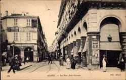 Ansichtskarte / Postkarte Algier Alger Algerien, Rue de Constantine et rue Dumont d'Urville