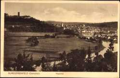 Postcard Burglengenfeld an der Naab Oberpfalz, Panoramablick auf den Ort