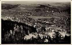 Postcard Murrhardt Rems Murr Kreis, Panoramablick auf den Ort