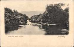 Postcard Killarney Irland, The Old Weir bridge, Alte Wehrbrücke