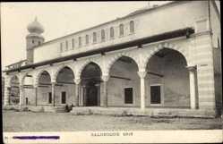 Postcard Thessaloniki Griechenland, Gebäude, Arkaden, Turm, Mauerwerk