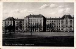 Ak Leipzig in Sachsen, Blick auf den Eingang der Möckern Kaserne