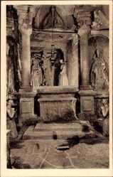 Postcard Wieliczka Groß Salze Polen, St. Antonius Kapelle, Innenansicht