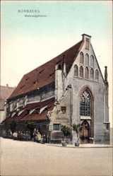 Postcard Nürnberg in Mittelfranken Bayern, Blick auf das Bratwurstglöcklein