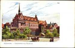 Künstler Ak Kley, Heinrich, Nürnberg in Mittelfranken Bayern,Germanisches Museum