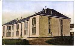 Ak La Courtine Creuse, Camp militaire, Caserne du détachement permanent