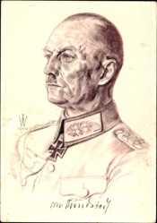 Künstler Ak Willrich, Wolfgang, Generaloberst von Rundstedt, Westfront