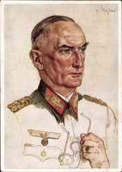 Künstler Ak Willrich, Wolfgang, Generaloberst Erwin von Witzleben