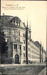 Ak Frankfurt am Main, Kaserne d. 1. Brandenb. Leib Gren. Regt. Nr. 8