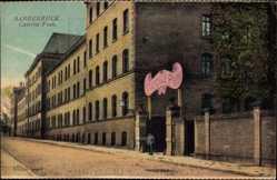 Ak Saarbrücken im Saarland, Straßenpartie an der Kaserne Foch