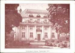 Postcard Coburg in Oberfranken, Die Vereinsbank am Theaterplatz 10