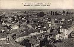 Postcard Saloniki Griechenland, Côté Sud, Südblick auf den Ort
