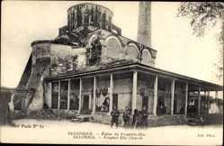 Postcard Saloniki Griechenland, Église du Prophête Élie