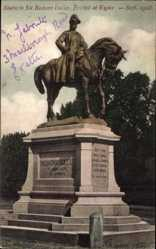 Postcard Exeter South West England Groß Britannien, Statue to Sir Redvers Buller