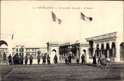 Ak Casablanca Marokko, Les nouvelles Caserne, L'entrie