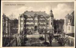 Ak Świnoujście Swinemünde Pommern, Ostsee Kurheim