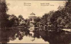 Postcard Warszawa Warschau Polen, Ogrod Saski, Sächsischer Garten