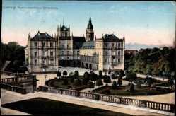 Postcard Coburg in Oberfranken, Residenzschloss Ehrenburg