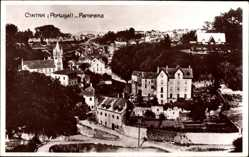 Postcard Cintra Sintra Portugal, Panorama der Stadt, Gebäude, Kirche