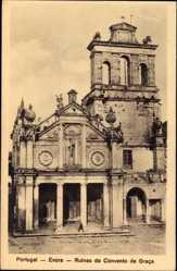 Postcard Évora Portugal, Ruinas do Convento da Graca