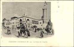 Cp Paris, Exposition Universelle de 1900, Palais de l'Algerie, Kamel