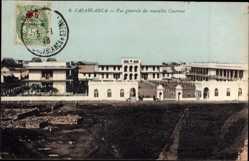 Ak Casablanca Marokko, Vue generale des nouvelles Casernes, Kaserne, Eingang