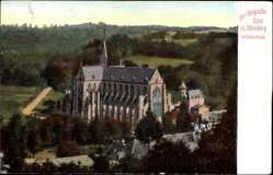 Postcard Altenberg Odenthal Bergisches Land, Der Bergische Dom mit Dhünnthal