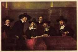 Rembrandt, Staalmeesters