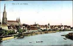 Donaupartie, Münster, Ruderboot