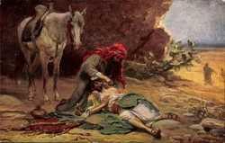 Leinweber, der barmherzige Samariter