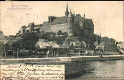Blick von der Elbbrücke zur Albrechtsburg
