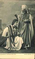 Kreuzesschule 1905, Davids Salbung