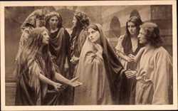 Passionsspiele 1922, die klagenden Frauen