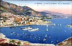 Port, Regates, Monte Carlo