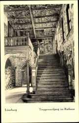 Treppenaufgang im Rathaus
