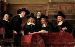 Die Sindici der Tuchmacher, Rembrandt, 29101