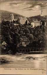 Schloss von der Hirschgasse aus